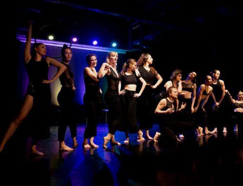 Predstavitev naših študentk na 12. Festivalu sodobnega plesa – KORPUS. ??