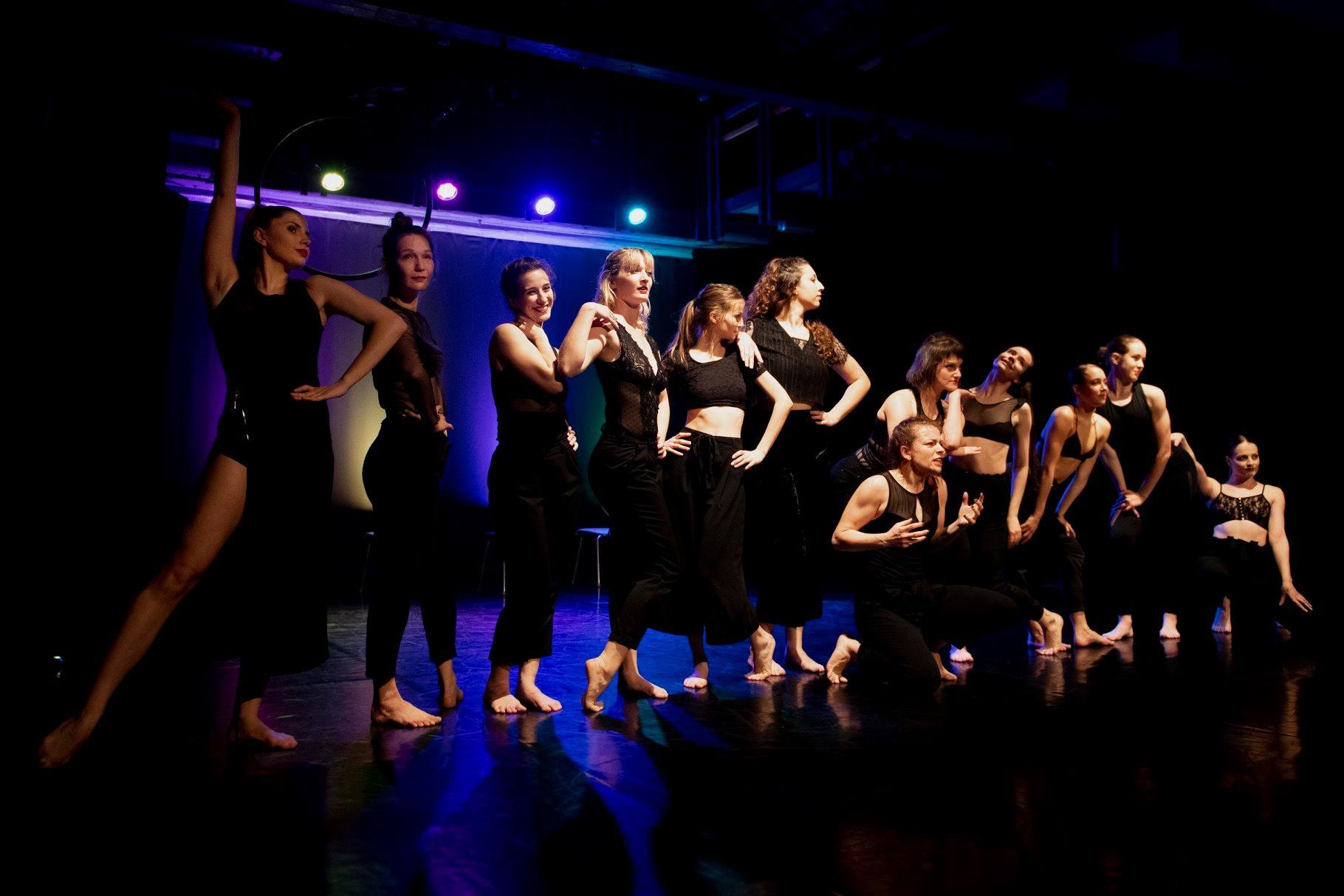 Predstavitev naših študentk na 12. Festivalu sodobnega plesa – KORPUS. 💃🕺